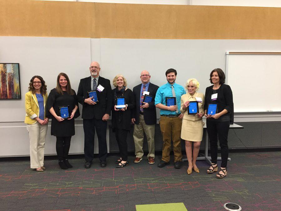 Christine Nobbe receives Inspiring Teacher Award, encourages STEM involvement