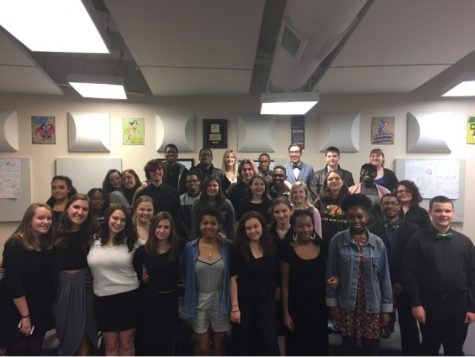 Vocal music students compete in district contests