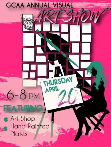 Visual art department hosts annual show, fundraiser