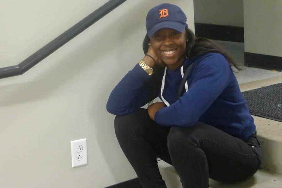 Arianna Johnson, senior