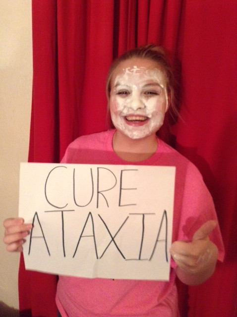 I+took+the+Pie+Face+Challenge+on+March+26th+to+show+my+support+for+Ataxia.+One+challenge+can+make+a+difference%21