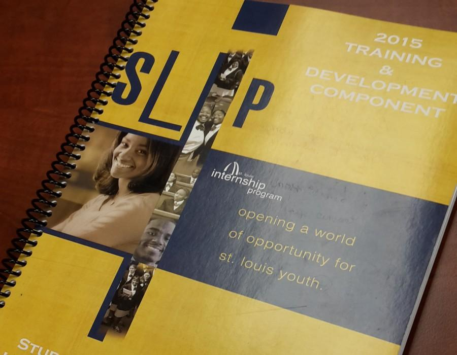 Each+student+who+is+in+the+St.+Louis+Internship+Program+received+this+handbook.+The+handbook+helps+students+with+things+such+as+interview+techniques+and+interview+etiquette.