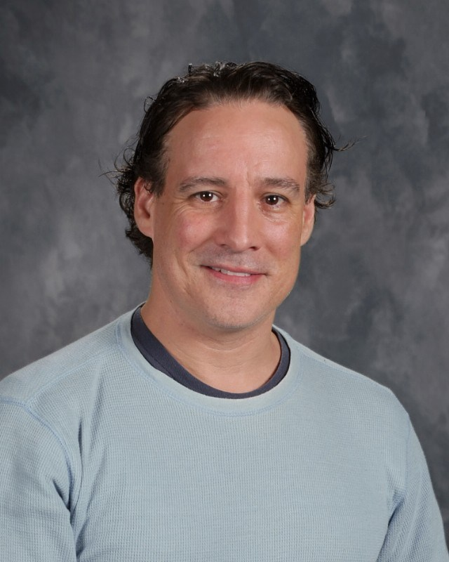 Theater teacher Shaun Sheley