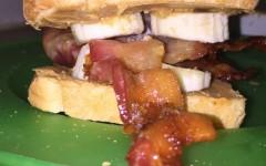 DIY: Peanut Butter Bacon and Banana sandwich