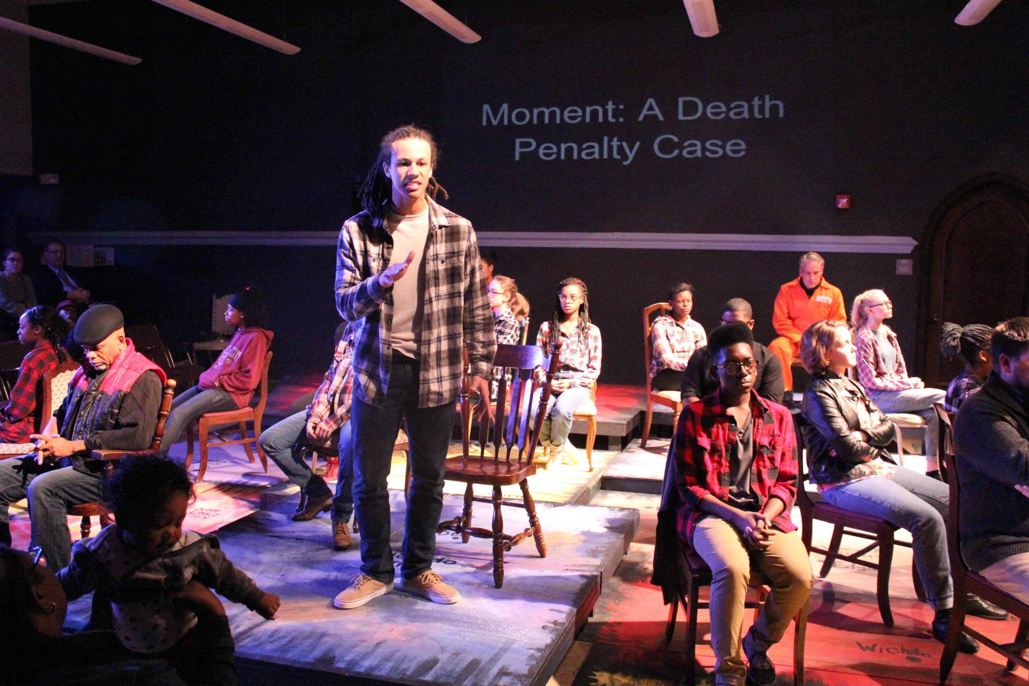 Junior Khol Parker plays the role of Rob Debree, who interviews  Aaron McKinney, one of Matthew Shepard's murderers.