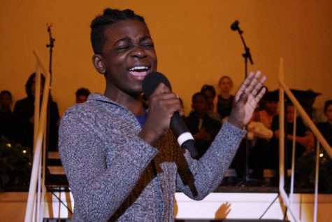Vocal music students showcased at annual middle school Cabaret Night