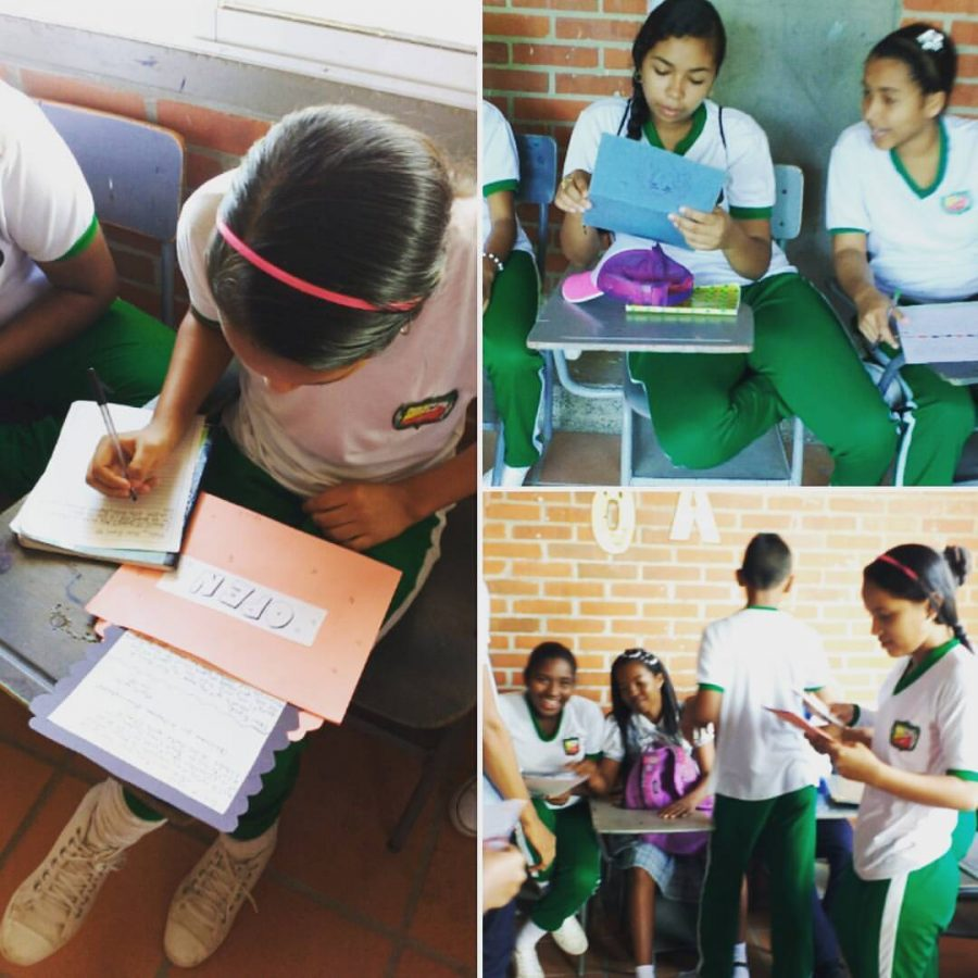 Spanish I & II start Pen Pal program with students in Columbia, South America