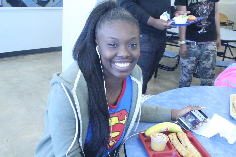 Averyonna Henderson, senior