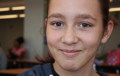Clara Bittle, 7th grade