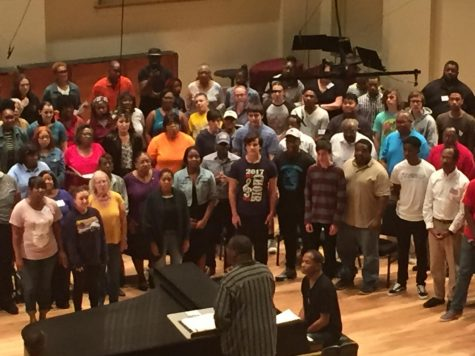 GCAA choir joins SLSO IN UNISON choir for first ever side-by-side rehearsal