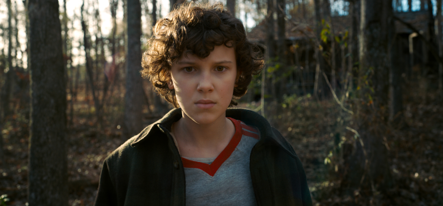 Millie Bobby Brown in Stranger Things 2 from Netflix. Image used with permission.