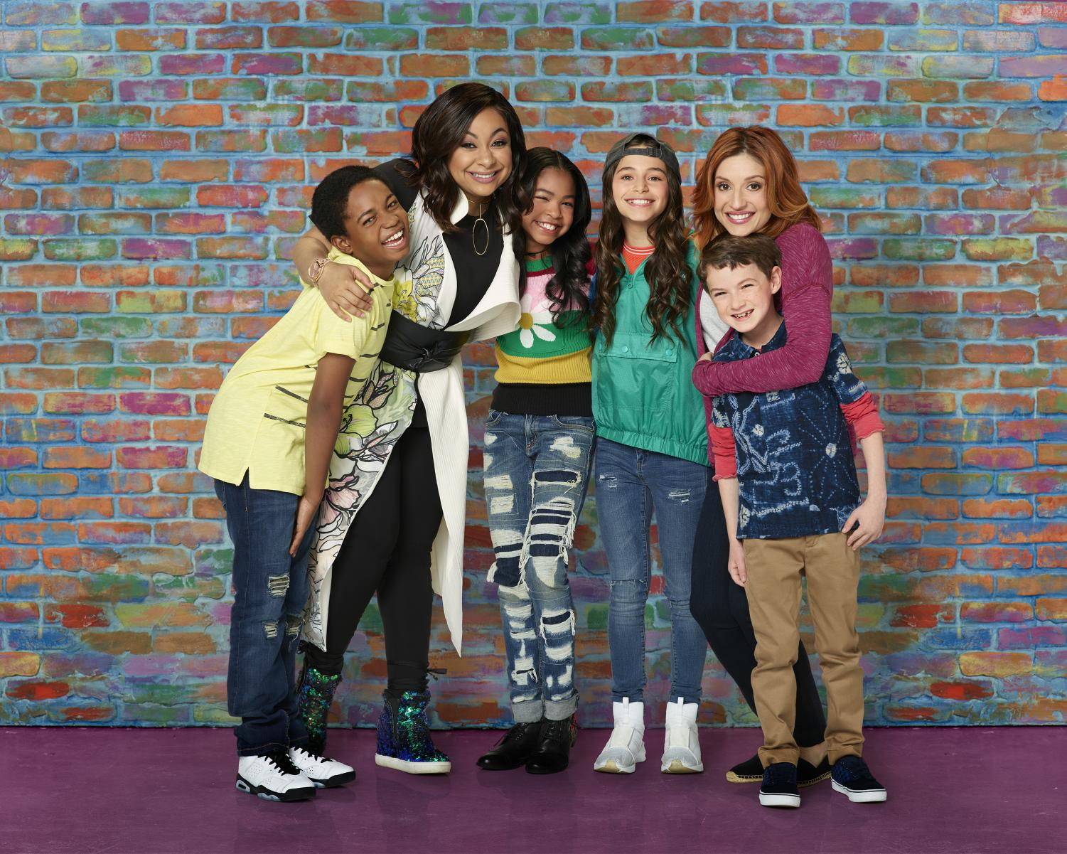 The cast of Raven's Home. Photo released by Disney Press.