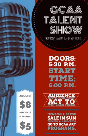 GCAA's annual Talent Show to take place on January 31st