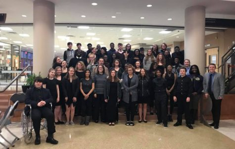 22 choir events sent to state competition, all large ensemble events receive highest rating at district contests