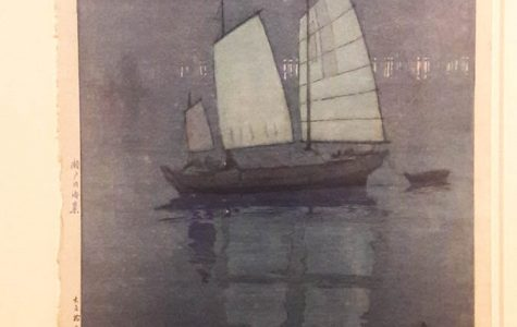 Sailing Boats––Night, from the series The Seto Inland Sea, 1926