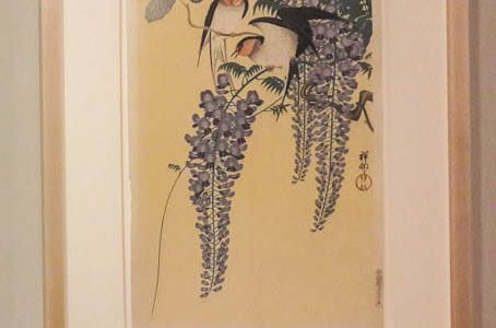Swallows and Wisteria, 1930s
