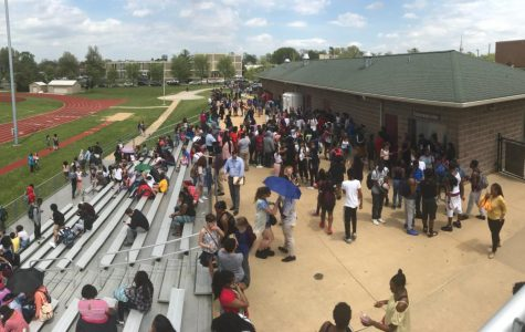 Students and staff evacuate building due to bomb threat