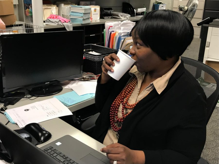 Detra Johnson-McMurray (Ms. Mac), data owner and enrollment specialist