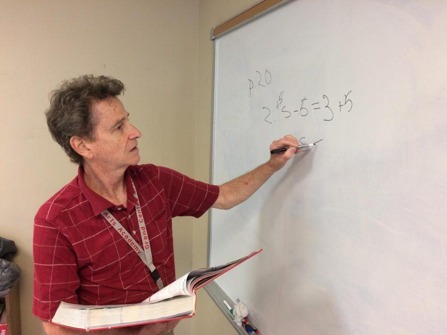 Brian McCalpin, high school math teacher
