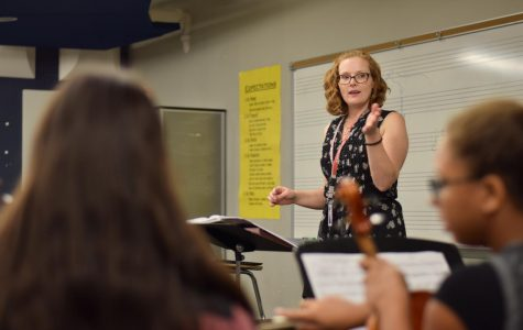 Ginnifer Brown, orchestra teacher
