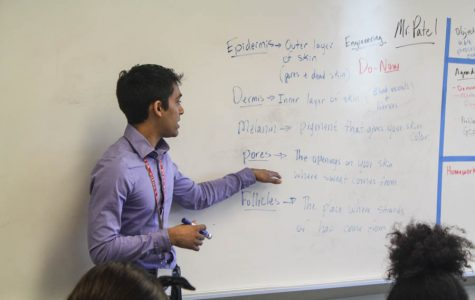 Keyur Patel, middle school science and engineering teacher