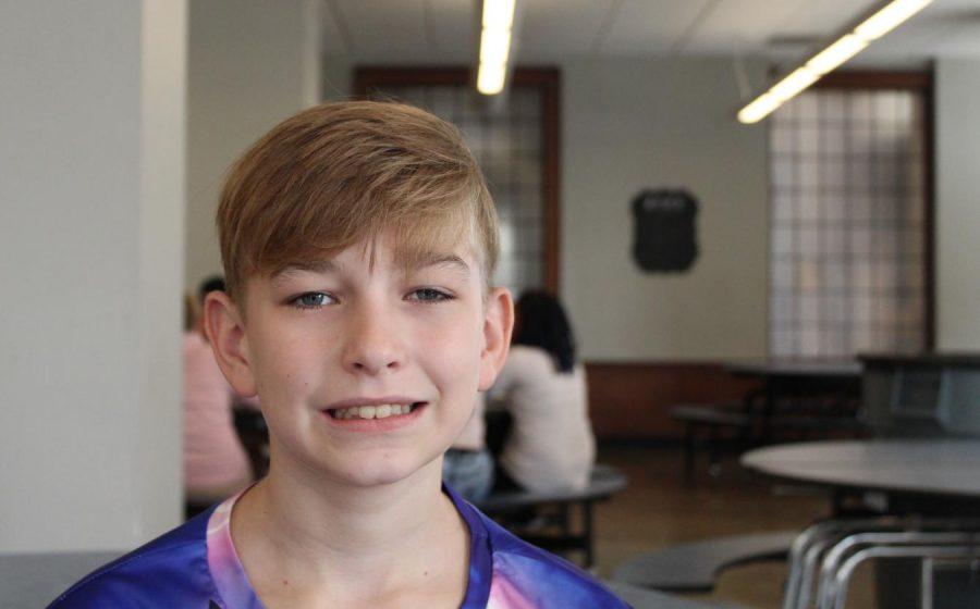 Lukas Brischetto, sixth grade