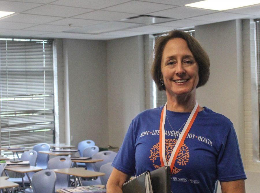 Lisa Basich, middle school math teacher