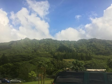 Eva Miller, Junior, captured this shot while in Hawaii on their trip over the summer. Submitted by Eva Miller.