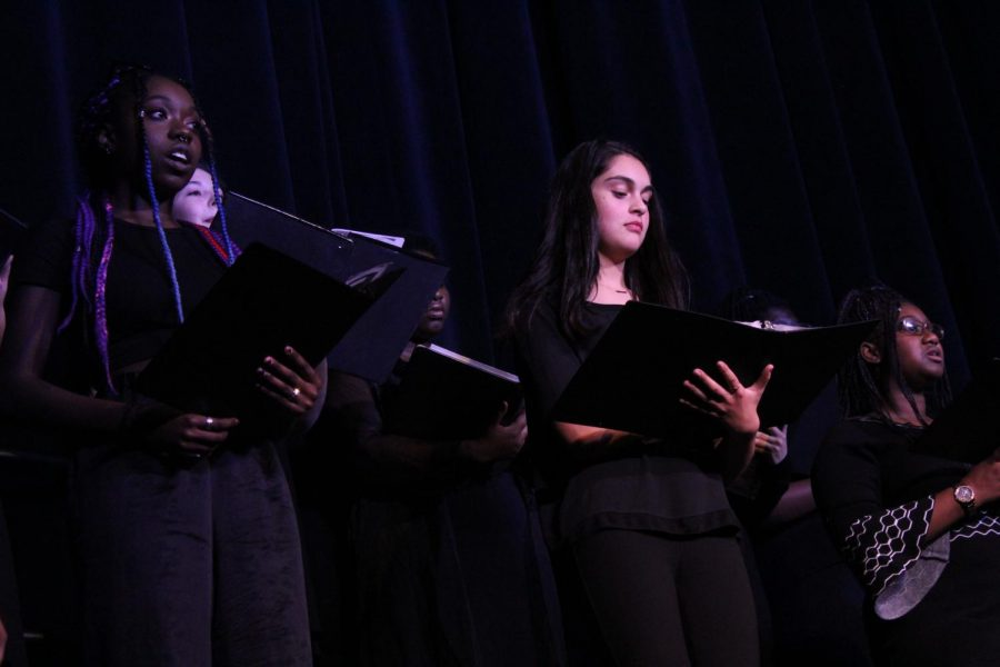 High School Choir 'Adv Treble'.