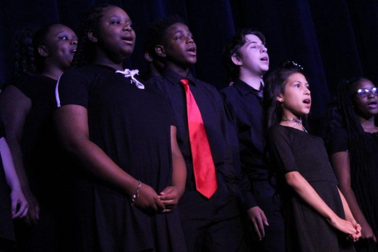 Middle School Choir 'Ars Nova'.