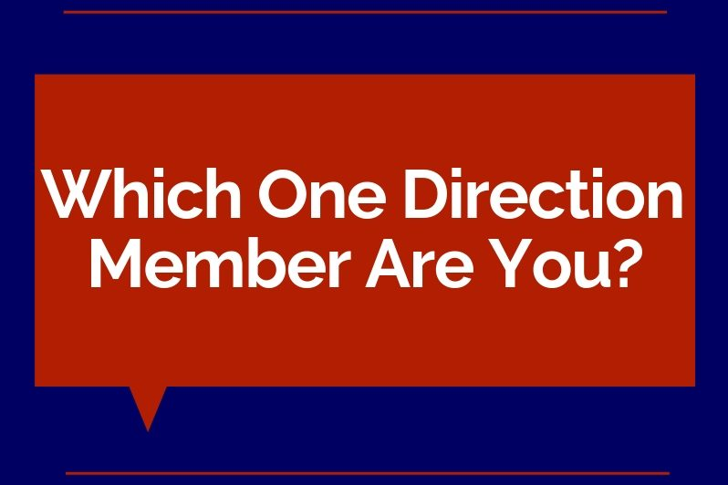 Which One Direction Member Are You?