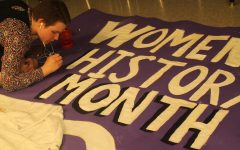 Students and teachers collaborate on this year's HERstory Museum