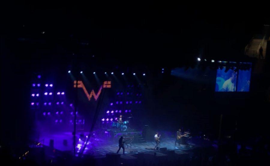 Weezer preforming 'Beverly Hills'