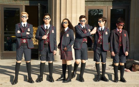 Production still from 'The Umbrella Academy' - season 1, episode 1. Image used with permission.