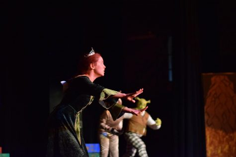 Students give an impeccable performance of 'Shrek' the musical