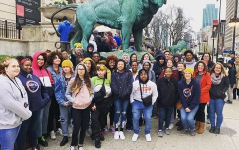 High school arts students takes a college and museum field trip to Chicago