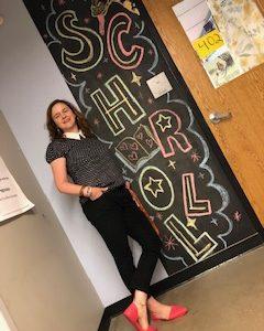 Valerie Schroll, high school English