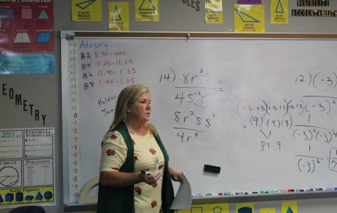 June Speidel, middle school math