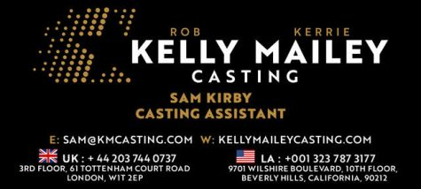 Casting assistant Kelly Mailey