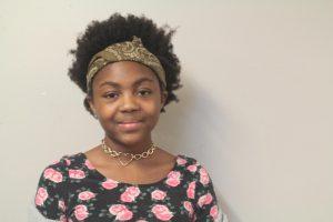 Nala Lindsey, seventh grade