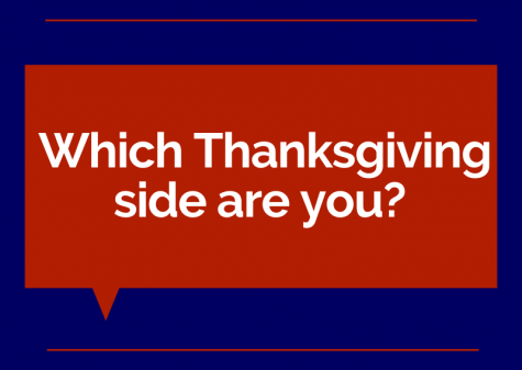 "Cover photo asking ""Which Thanksgiving side are you?"""