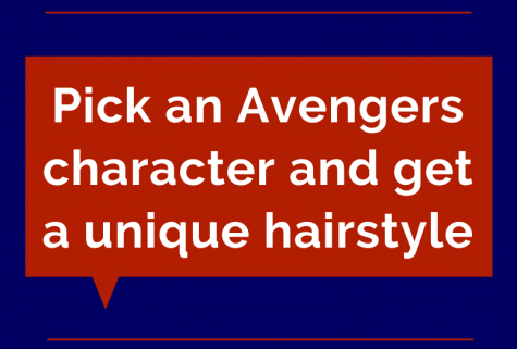 Pick an Avengers character and get a unique hairstyle