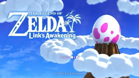 Screenshot of the title screen of Nintendo