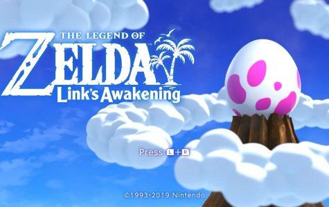 Screenshot of the title screen of Nintendo's