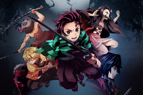 Promotional image for Demon Slayer: Kimetsu no Yaiba. Used with permission.
