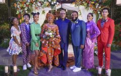"""BLACK-ISH – """"Our Wedding Dre"""" – Pops and Ruby are getting re-married! And Dre's intimate wedding plans go awry when Pops' brother, Uncle Norman, shows up unexpectedly for the festivities. Meanwhile, Ruby refuses Bow's offer to help with preparations until an unanticipated situation gives her an opening to save the big day on """"black-ish,"""" WEDNESDAY, NOV. 18 (9:30-10:00 p.m. EST), on ABC. (ABC/Richard Cartwright) MARSAI MARTIN, MILES BROWN, YARA SHAHIDI, JENIFER LEWIS, LAURENCE FISHBURNE, ANTHONY ANDERSON, TRACEE ELLIS ROSS, MARCUS SCRIBNER - Used with permission"""